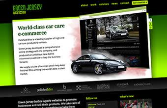 Green Jersey Web Design